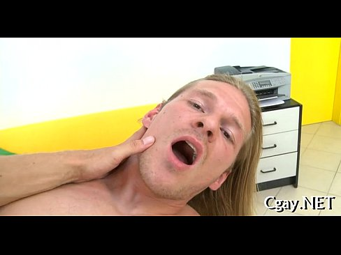 Indecent blowjob for lusty homo