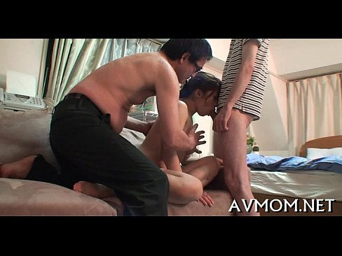 Mother i'd like to fuck receives large cock to play with