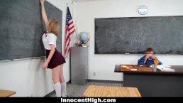 InnocentHigh Teachers Pet Gets A Creampie8:12