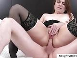 Nikki Swings Ass Fucked Swinger MILF