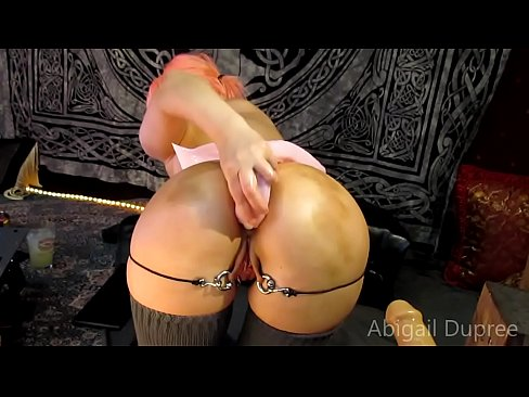 Deep Anal, and Many Anal toys with ABigail Dupree