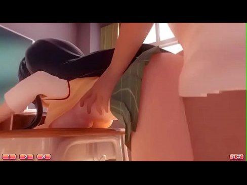 [3D Hentai] Japanese Teen Schoolgirl Fucked Hard