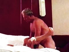 Tang Li visits my hotel room in Dazhou for pleasure