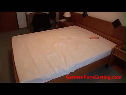 German Amateur Gets Fucked During Porn Casting – GermanPornCasting.com