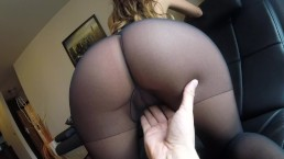 Sexy MILF Claudia fucked in pantyhose – 12:23- {rate}