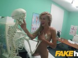 Fake Hospital Sweet blonde Russian eats docs cum after doggystyle fucking – 10:01- {rate}