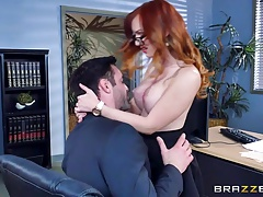 div itemprop name Brazzers Dani Jensen gets pounded at work div