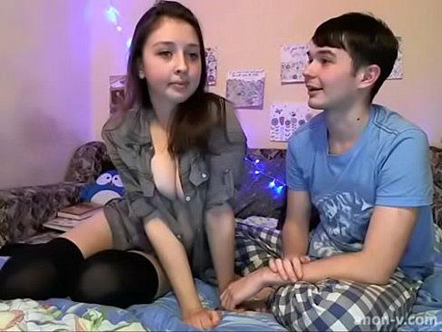 teens couple fucking webcam