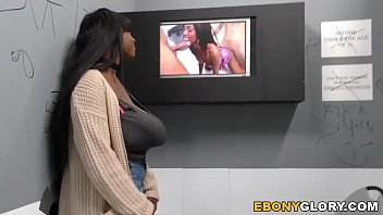 Busty Ebony Rachel Raxxx Takes White Gloryhole Cock 8 min HD