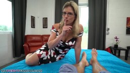 [Porn] Busty Blonde Mom Let's Step Son Creampie Her Hairy Pussy to Relieve Stress  Full: Jav24Hours.club