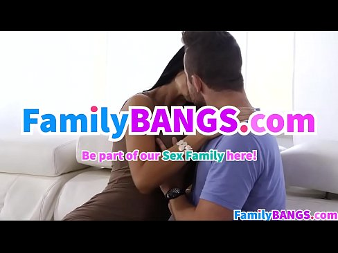My Naughty Girlfriend and Busty Stepmom – FamilyBANGS.com
