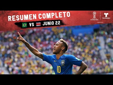 Brasil vs. Costa Rica: Resumen Completo Junio 22 | Copa Mundial FIFA Rusia 2018 | Telemundo