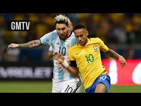 Brazil vs Argentina • WC Qualifiers 2018 | GMTV