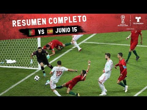 Portugal vs. España: Resumen Completo Junio 15 | Copa Mundial FIFA Rusia 2018 | Telemundo