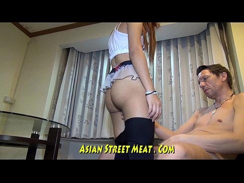 Asian Neighbor Turns Super Slut