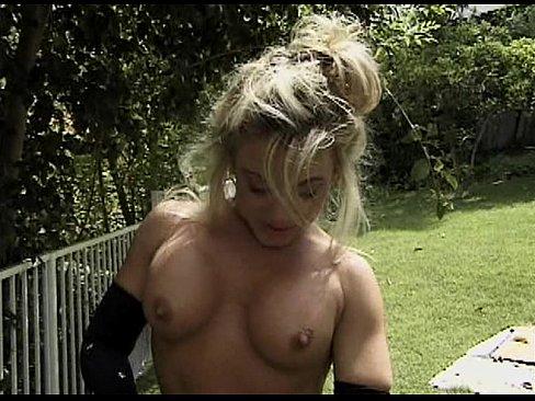 Garden Blowjob
