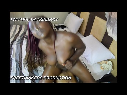 cute horny Africa nigeria Mrs with big boobs fuck Aremu the house maid.