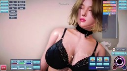 3D GAME Creating hot asian girl to fuck and cum on softcore