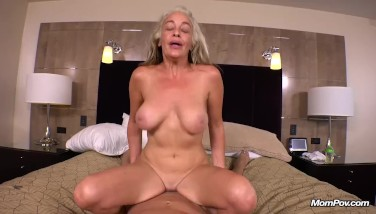Anal Fucking Big Natural Tits Sexy Amateur Cougar POV