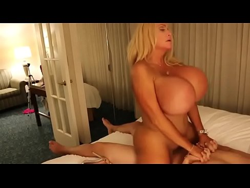 Blonde with huge fake tits gets fucked movie