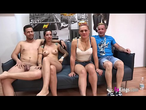 Unexperienced couple enjoys a swinger session with two experienced porn performers naija porn