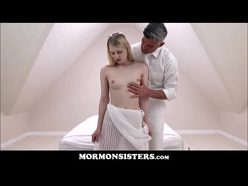 Blonde Mormon Girl Lily Rader Fucked By The Seed Bearer Church President Oaks In The Covenant