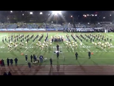 Commack HS Marching Band & Kickline – 2018 Newsday Marching Band Festival