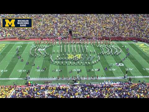 """John Williams"" – September 9, 2017 – The Michigan Marching Band"