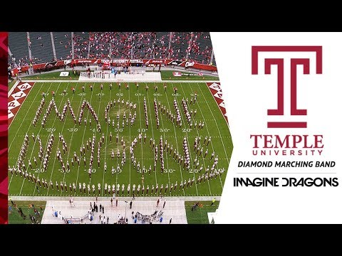 Imagine Dragons Show / Temple University Diamond Marching Band