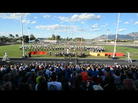 2018 RUHS Marching Band & Color Guard @ ABODA Flowing Wells Show of Shows Tucson, AZ. 10/20/18