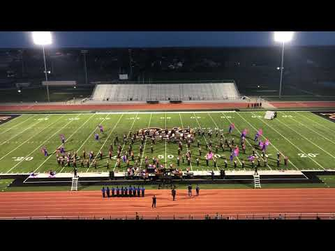 Castleberry High School Marching Band 2018