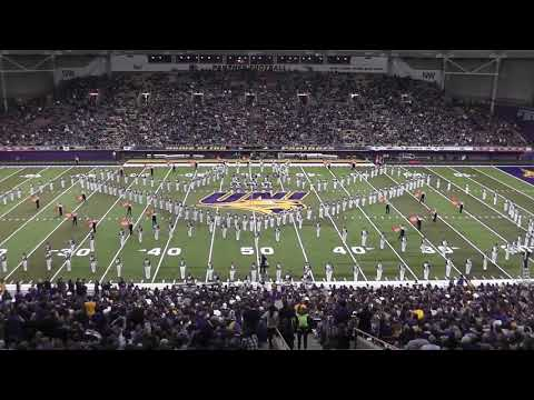 UNI Panther Marching Band 2018 — Homecoming halftime, 10.20.2018