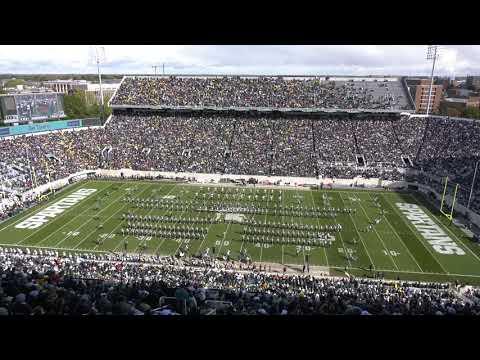 Spartan Marching Band: Halftime | MSU vs. Michigan: 10.20.2018
