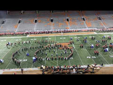 Minooka High School Marching Band @ University of Illinois 2018