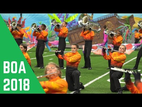 2018 Avon High School Marching Band: Show Explanation