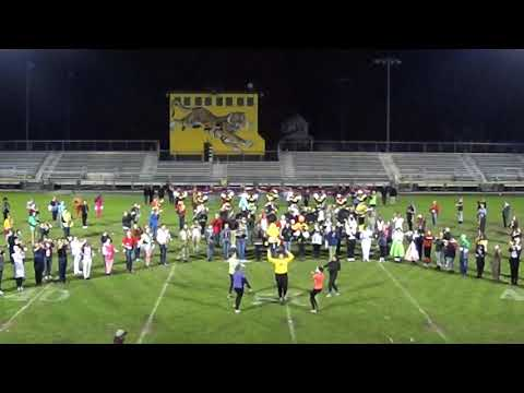 Cuyahoga Falls Marching Band Practice 10/24/2018 Halloween run through