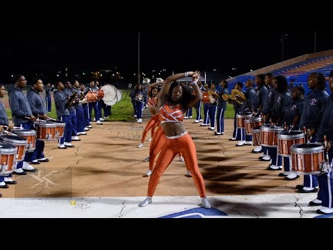 Lane College Marching Band – Marching In @ the 2018 HBCU Unity Showcase