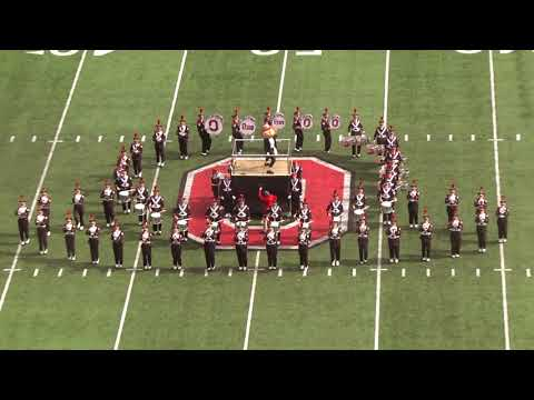 Ohio State Marching Band Halftime show against Minnesota