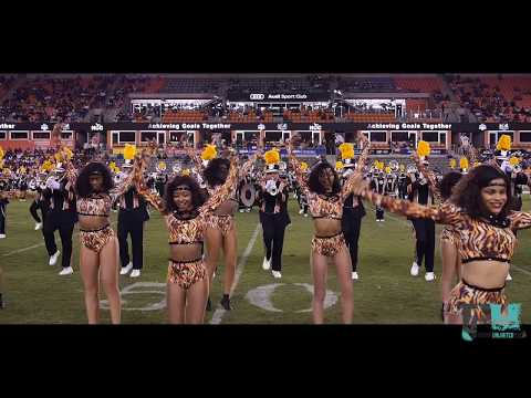 2018 Grambling State Marching Band vs Texas Southern Halftime