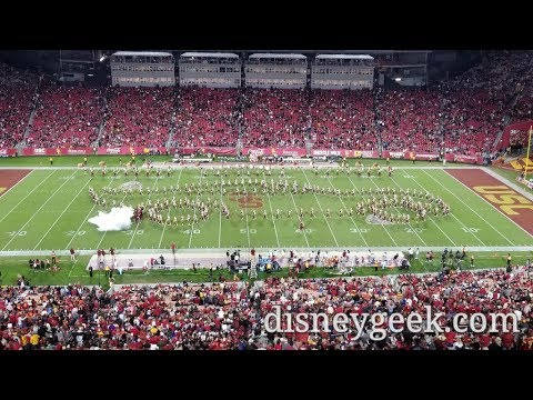 USC Trojan Marching Band – Tribute to Pixar Halftime Show