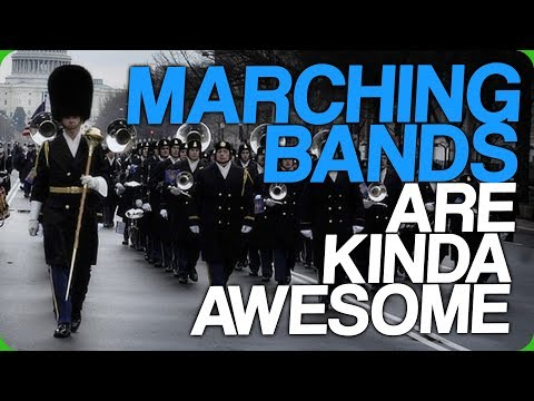 Marching Bands are Pretty Awesome (Honest Karl's Gym)
