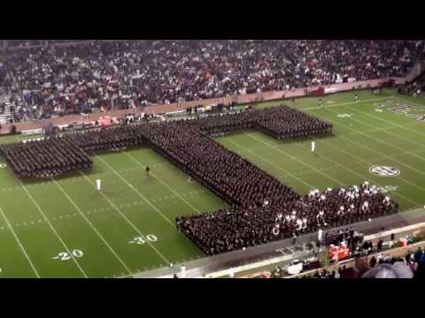 Fightin' Texas Aggie Band Halftime Drill – Missouri Game at Kyle Field on November 15, 2014