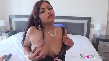 What was left for Carol at FAKings was a hot masturbation session with lots of dildos 10 min HD