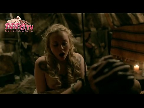 2018 Popular Dagny Backer Johnsen Nude Show Her Cherry Tits From Vikings Seson 5 Episode 7 Sex Scene On PPPS.TV