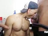 Teamwork Sucking Two Cocks
