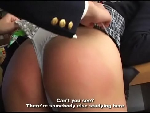 217 Spanking in School Library