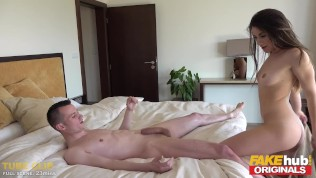 FAKEhub Originals Cheating sex with Girlfriends Italian Young Sister